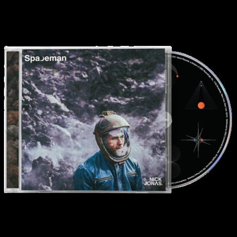 √Spaceman (Alternative Cover 2) von Nick Jonas - cd jetzt im Bravado Shop