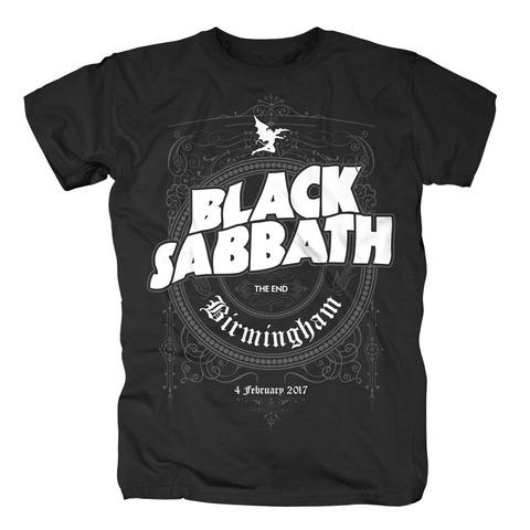 The End Birmingham von Black Sabbath - T-Shirt jetzt im Bravado Shop