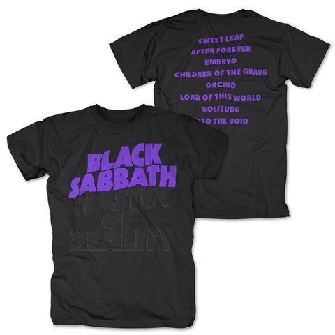 √Master Of Reality Tracklist von Black Sabbath - T-Shirt jetzt im Bravado Shop