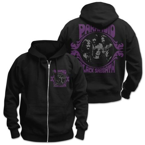 √Paranoid von Black Sabbath - Hooded jacket jetzt im Bravado Shop