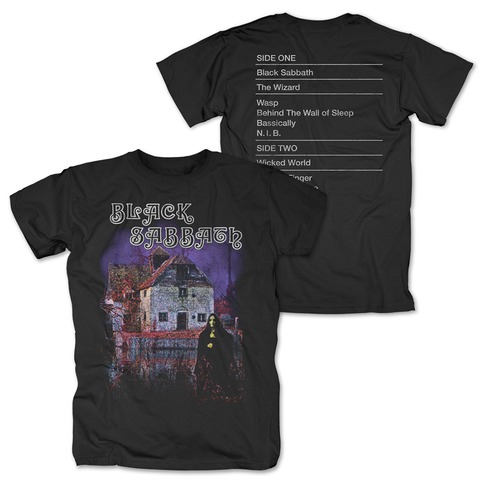 √Black Sabbath Tracklist von Black Sabbath - T-Shirt jetzt im Bravado Shop