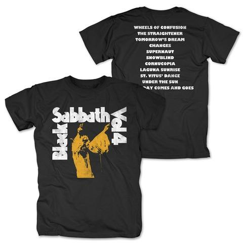 √Vol. 4 Tracklist von Black Sabbath - T-Shirt jetzt im Bravado Shop