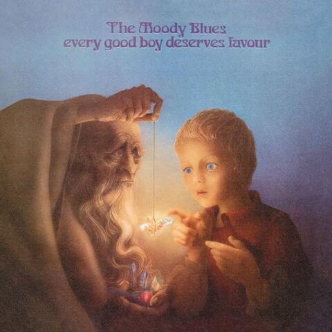 Every God Boy Deserves Favour von The Moody Blues - LP jetzt im Bravado Shop