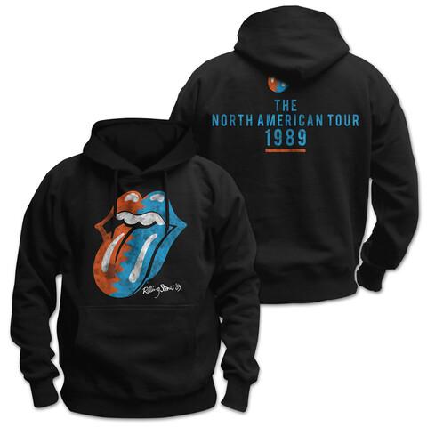√Zig Zag Tongue von The Rolling Stones - Hood sweater jetzt im Bravado Shop