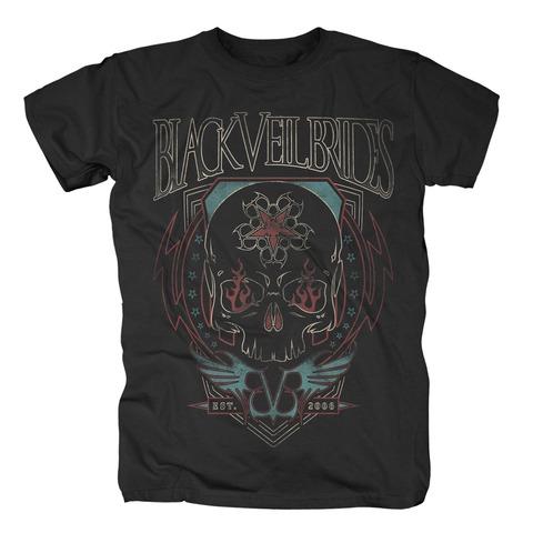 √Skull Flames von Black Veil Brides - T-Shirt jetzt im Bravado Shop