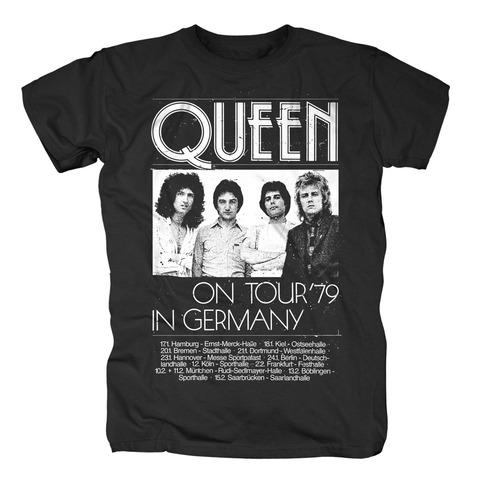 √Germany Tour 79 von Queen - T-Shirt jetzt im Bravado Shop