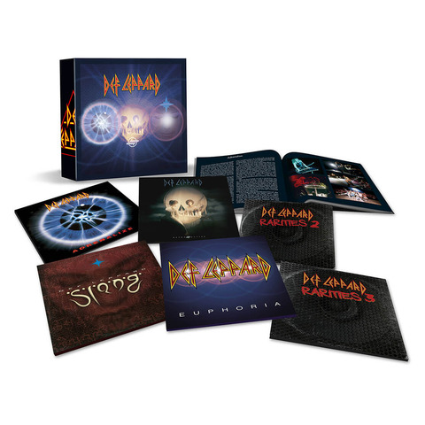 √The Vinyl Box Set: Volume Two (Limited Edition) von Def Leppard -  jetzt im Bravado Shop
