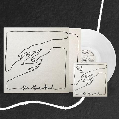 √Be More Kind (Excl. transparentes Vinyl) von Frank Turner - LP jetzt im Bravado Shop