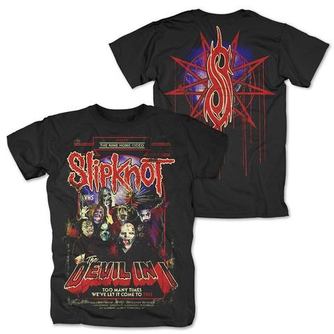 √VHS Cover von Slipknot - T-Shirt jetzt im Bravado Shop