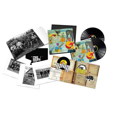 Music From Big Pink 50th Aniversary (Ltd. Edition Box Set) von The Band - 2LPs, 7'' Single, CD/DVD jetzt im Bravado Shop