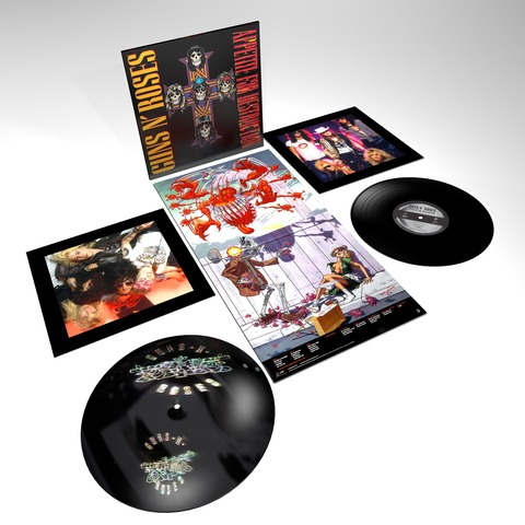 √Appetite For Destruction - 2LP 180g Ltd. Audiophile Vinyl Editio von Guns N' Roses - LP jetzt im Bravado Shop