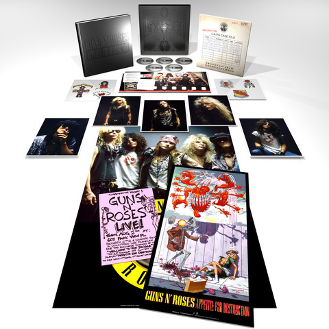 √Appetite For Destruction - Super Deluxe Edition von Guns N' Roses - CD jetzt im Bravado Shop