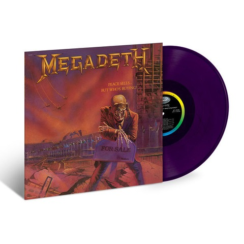 √Peace Sells...But Who's Buying? (Limited Purple Vinyl) von Megadeth - LP jetzt im Bravado Shop
