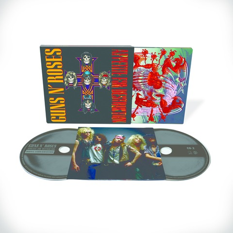 √Appetite For Destruction - 2CD Deluxe Edition (Ltd. Edition) von Guns N' Roses - CD jetzt im Bravado Shop