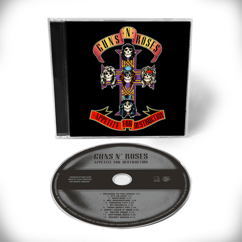 √Appetite For Destruction - 1CD Remaster von Guns N' Roses - CD jetzt im Bravado Shop