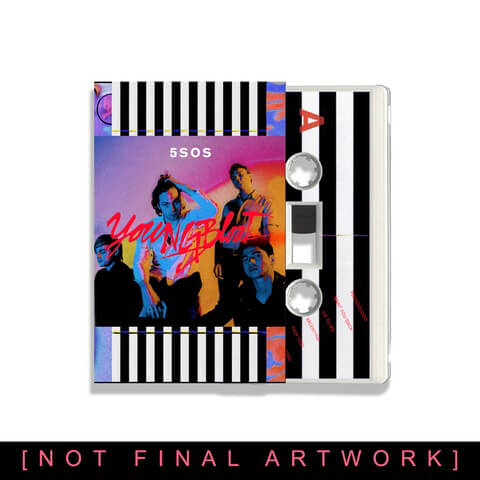 √Youngblood (Cassette) von 5 Seconds of Summer - LP jetzt im Bravado Shop