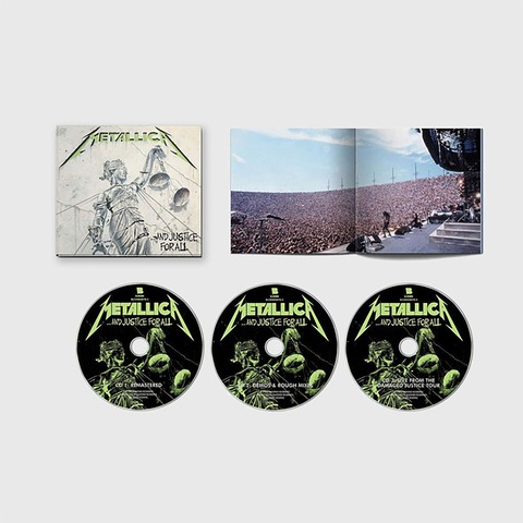 √...And Justice For All (Remastered/Expanded Edt.) von Metallica -  jetzt im Bravado Shop