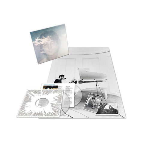 Imagine - The Ultimate Collection (Ltd. Clear 2LP) von John Lennon - LP jetzt im Bravado Shop