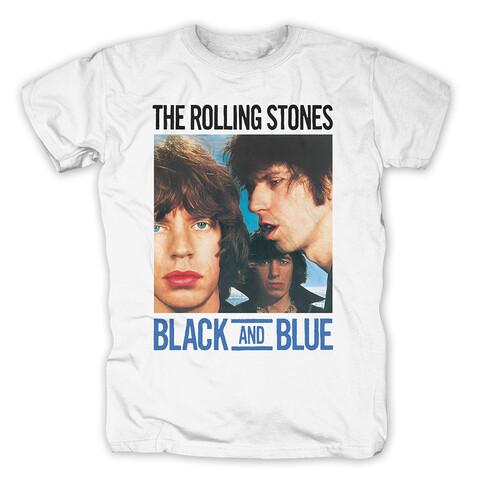 √Black and Blue von The Rolling Stones - T-Shirt jetzt im Bravado Shop