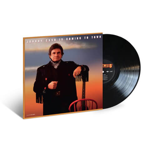 √Johnny Cash Is Coming To Town (1987) LP Re-Issue von Johnny Cash - LP jetzt im Bravado Shop
