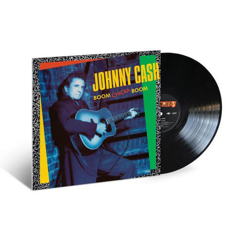 √Boom Chicka Boom (1990) LP Re-Issue von Johnny Cash -  jetzt im Bravado Shop