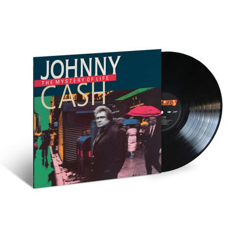 √The Mystery Of Life (1991) - LP Re-Issue von Johnny Cash -  jetzt im Bravado Shop