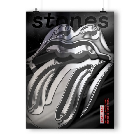 No Filter 2018 Stuttgart von The Rolling Stones - Kunstdruck jetzt im Bravado Shop