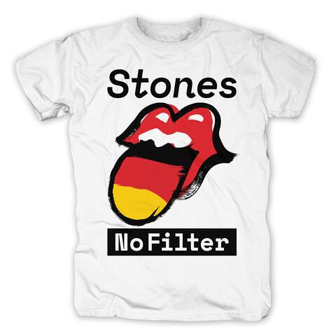 √No Filter Germany von The Rolling Stones - T-Shirt jetzt im Bravado Shop