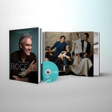Si (Excl. Bocelli Table Book) von Andrea Bocelli - Buch jetzt im Bravado Shop
