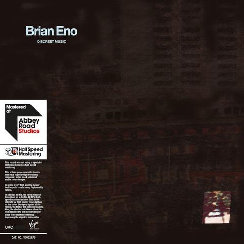 Discreet Music von Brian Eno - LP jetzt im Bravado Shop