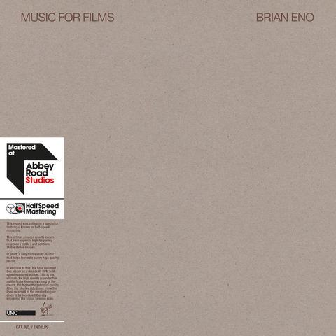 Music For Films von Brian Eno - LP jetzt im Bravado Shop