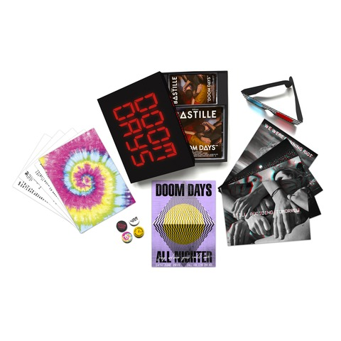 √Doom Days (Limited Edition CD Box Set) von Bastille - Box jetzt im Bravado Shop