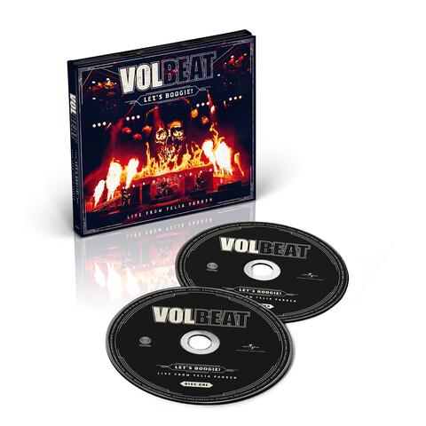 √Let's Boogie! Live from Telia Parken (2CD) von Volbeat - CD jetzt im Bravado Shop