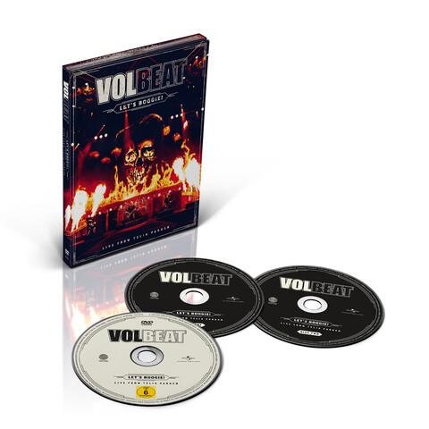 √Let's Boogie! Live from Telia Parken (2CD + DVD) von Volbeat - CD jetzt im Bravado Shop