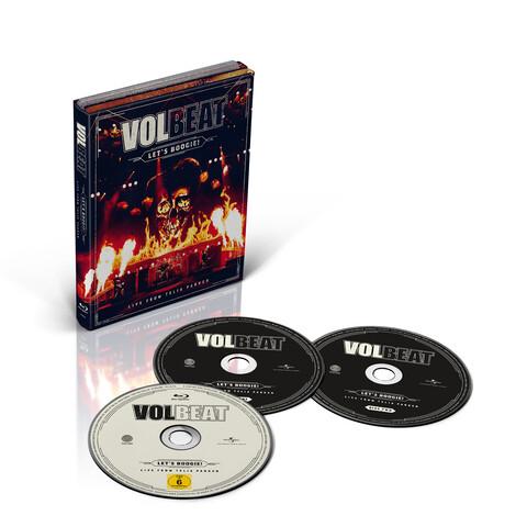 √Let's Boogie! Live from Telia Parken (2CD + BD) von Volbeat - CD jetzt im Bravado Shop