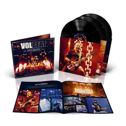√Let's Boogie! Live from Telia Parken (inkl. MP3) von Volbeat - LP jetzt im Bravado Shop