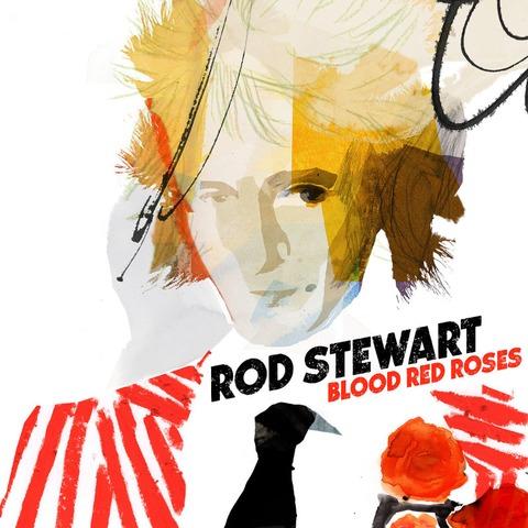 Blood Red Roses (2LP) von Rod Stewart - 2LP jetzt im Bravado Store