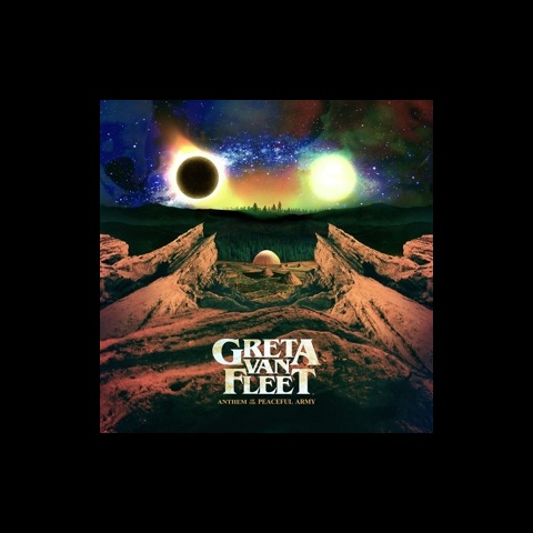 √Anthem of the Peaceful Army von Greta Van Fleet - LP jetzt im Bravado Shop