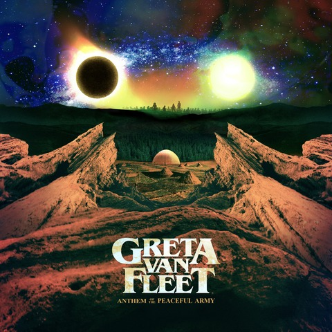 √Anthem of the Peaceful Army von Greta Van Fleet - CD jetzt im Bravado Shop