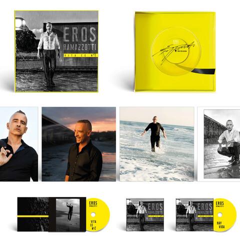 √Vita ce n'e (Super Deluxe Box) von Eros Ramazzotti - CD jetzt im Bravado Shop
