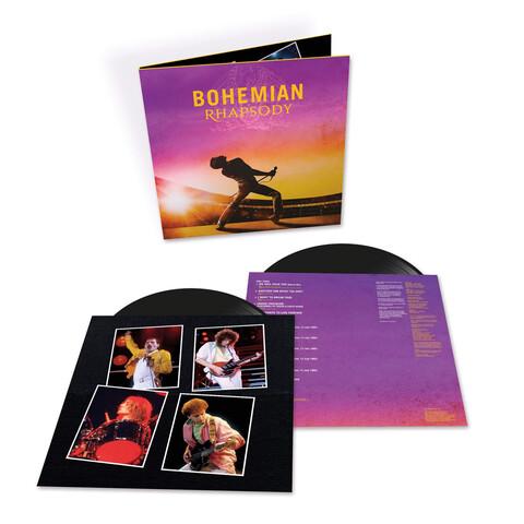 √Bohemian Rhapsody (The Original Soundtrack 2LP) von Queen - 2LP jetzt im Bravado Shop