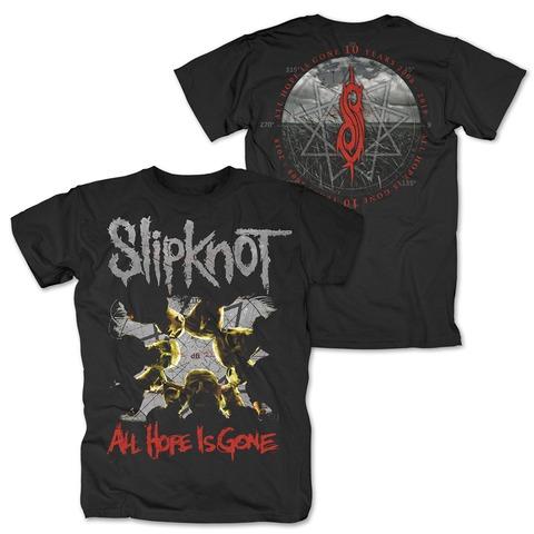 √AHIG 10 Years von Slipknot - T-Shirt jetzt im Bravado Shop