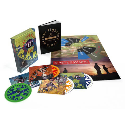 √Street Fighting Years (Ltd. 4 CD Boxset) von Simple Minds - Box set jetzt im Bravado Shop