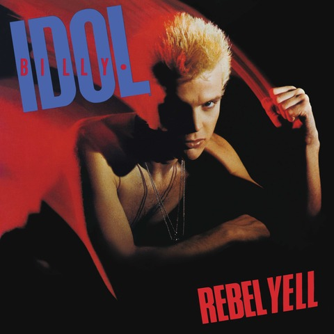 √Rebel Yell (Ltd. Transparent Blue Vinyl) von Billy Idol - LP jetzt im Bravado Shop