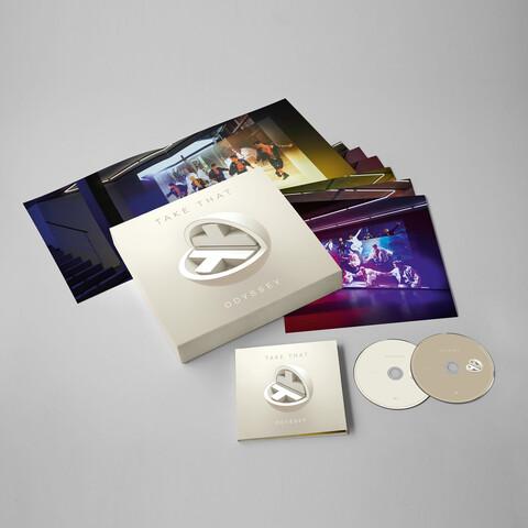 √Odyssey (Limited Edition Box) von Take That - LP jetzt im Bravado Shop