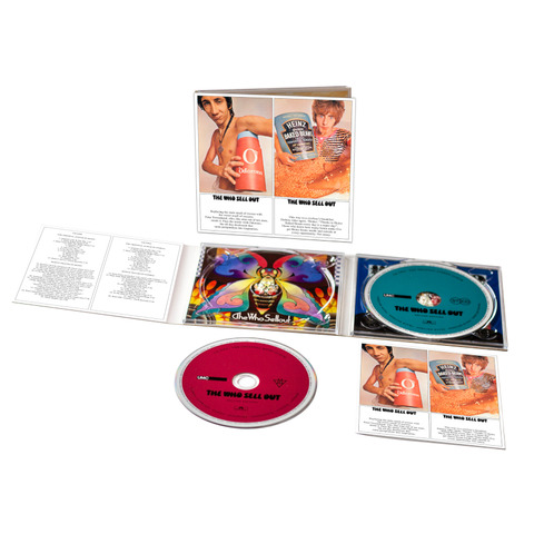 √The Who Sell Out (2CD Digipack) von The Who - 2CD jetzt im Bravado Shop
