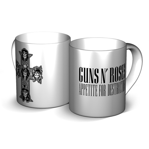 √Appetite von Guns N' Roses - Mug jetzt im Bravado Shop