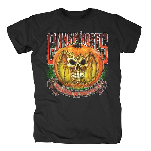 √Melting Skull Pumpkin von Guns N' Roses - T-Shirt jetzt im Bravado Shop