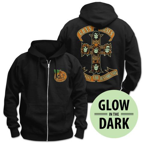√Hallow von Guns N' Roses - Hooded jacket jetzt im Bravado Shop