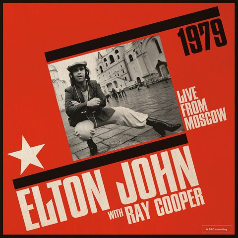 √Live From Moscow (with Ray Cooper) von Elton John - 2LP jetzt im Bravado Shop